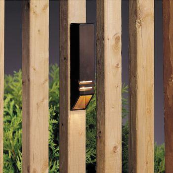 """Kichler Landscape 6"""" 12V Deck Rail in Textured Architectural Bronze"""
