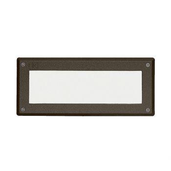 """Kichler Landscape 9.5"""" 2-Light Deck in Textured Architectural Bronze"""