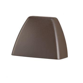 Kichler 4 Corners 2700K LED Deck Light in Textured Architectural Bronze
