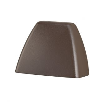 Kichler 4 Corners 3000K LED Deck Light in Textured Architectural Bronze