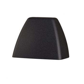 Kichler 4 Corners 2700K LED Deck Light in Textured Black