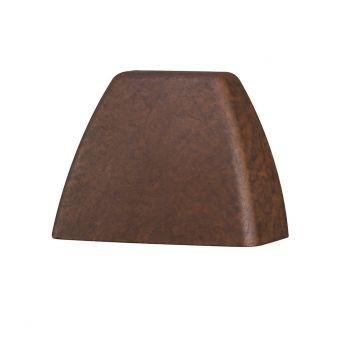 Kichler 4 Corners 2700K LED Deck Light in Textured Tannery Bronze