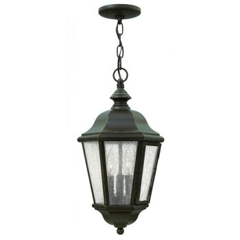 Hinkley Edgewater 3-Light Outdoor Hanging Light in Oil Rubbed Bronze
