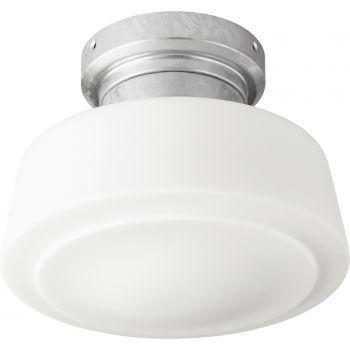 """Quorum Windmill 9"""" Indoor/Outdoor Ceiling Fan Light Kit in Galvanized"""