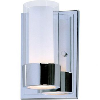 Maxim Lighting Silo 1-Light Wall Sconce in Polished Chrome