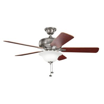 "Kichler Terra Select 52"" Ceiling Fan in Burnished Antique Pewter"