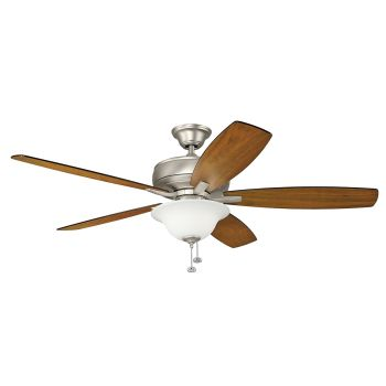 "Kichler Terra Select 65"" Ceiling Fan in Brushed Nickel"