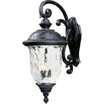 Maxim Lighting Carriage House VX 3-Light Outdoor Wall Lantern in Oriental Bronze