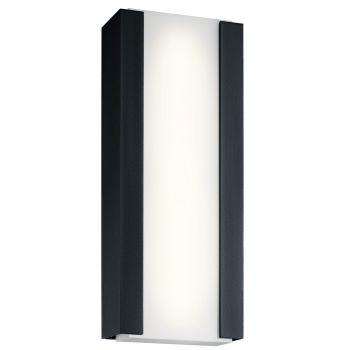 "Kichler Ashton 24"" 4-Light Outdoor Wall Sconce in Textured Black"