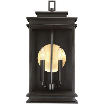 "Savoy House Reading 20"" 2-Light Outdoor Wall Lantern in English Bronze"