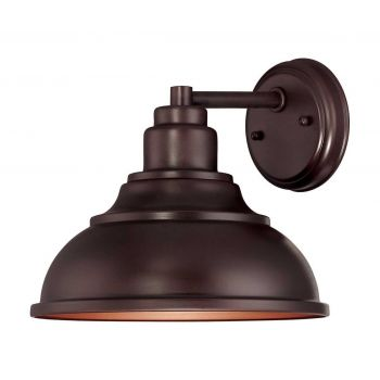 """Savoy House Dunston DS 9.5"""" Outdoor Wall Light in English Bronze"""