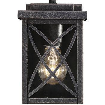 "Savoy House Norwalk 7.5"" Outdoor Wall Lantern in Brushed Bronze"