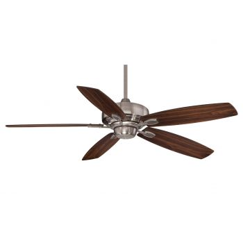 """Savoy House The Wind Star 52"""" Ceiling Fan in Brushed Pewter"""