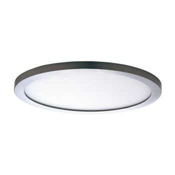 "Maxim Lighting Wafer LED 15"" Round Ceiling Light in Satin Nickel"
