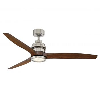 "Savoy House La Salle 60"" 3 Blade Ceiling Fan in Satin Nickel"
