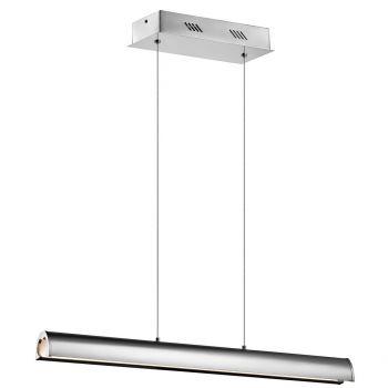 """Elan Lirna 36"""" LED Linear Pendant in Chrome"""