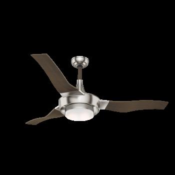 """Casablanca Perseus 64"""" Indoor/Outdoor Ceiling Fan in Brushed Nickel"""