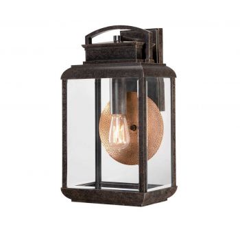 "Quoizel Byron 18"" Outdoor Wall Lantern in Imperial Bronze"
