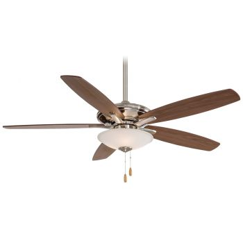 "Minka-Aire Mojo 52"" Ceiling Fan in Brushed Nickel"
