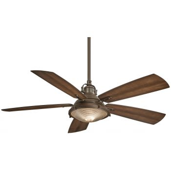 """Minka-Aire Groton 56"""" Indoor/Outdoor Ceiling Fan in Oil Rubbed Bronze"""