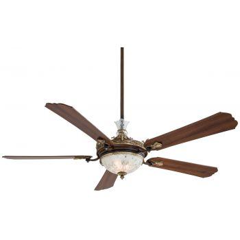 """Minka-Aire Cristafano 68"""" Ceiling Fan in Belcaro Walnut"""
