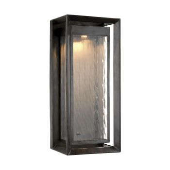 Feiss Urbandale Large Outdoor LED Wall Lantern in Antique Bronze