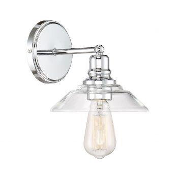 Trade Winds Loft Wall Sconce in Chrome
