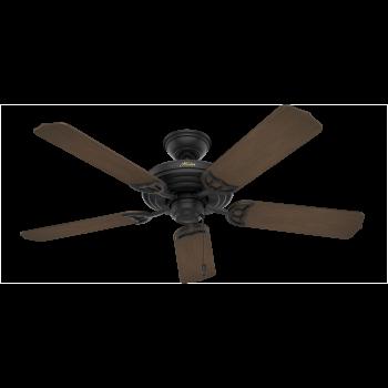 """Hunter Sea Air 52"""" Indoor/Outdoor Ceiling Fan in Textured Matte Black"""