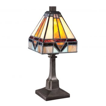 """Quoizel Holmes 12"""" Table Lamp in Vintage Bronze"""