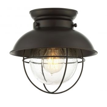 Trade Winds Lighting Nautical Ceiling Light in Oil Rubbed Bronze