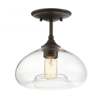 Trade Winds Bubble Ceiling Light in Oil Rubbed Bronze