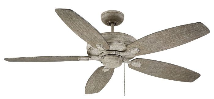 """Savoy House Kentwood 52"""" 5-Blade Ceiling Fan in Aged Wood"""
