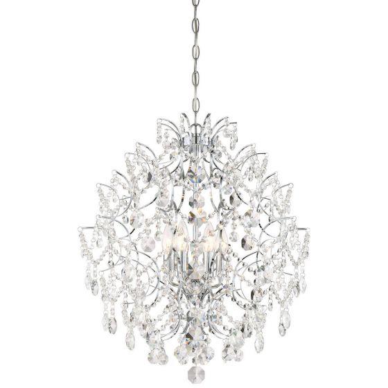 Minka Lavery Isabella's Crown Chandelier in Chrome
