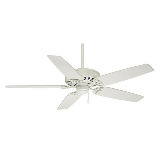 """Casablanca 54"""" Concentra Ceiling Fan in Snow White"""