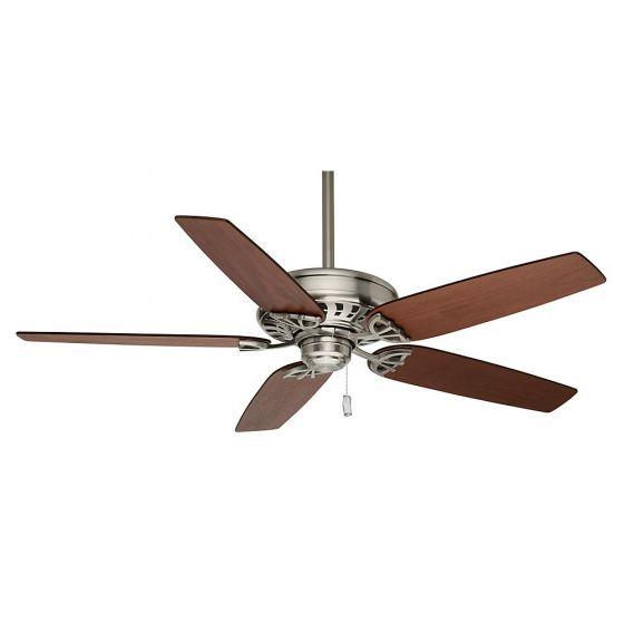 "Casablanca 54"" Concentra Ceiling Fan in Brushed Nickel"