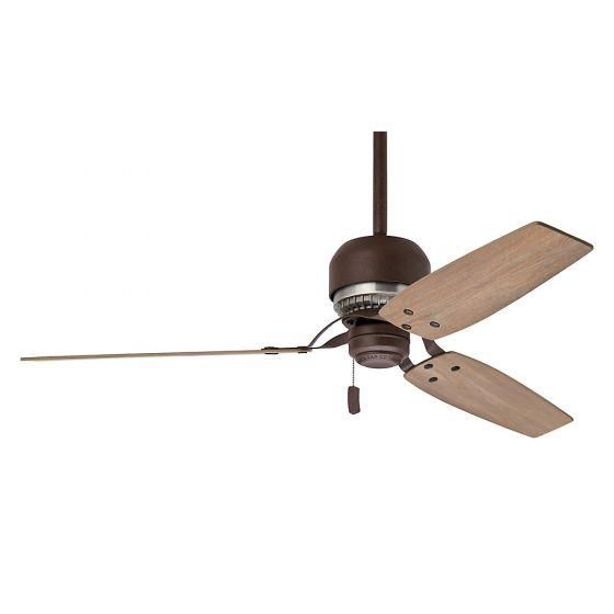 Aeronautical Ceiling Fan : Casablanca tribeca quot indoor ceiling fan in bronze brown