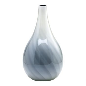 "Cyan Design Petra 23.5"" Glass Vase in White/Smoked"