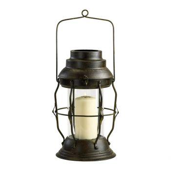 """Cyan Design Willow 19"""" Lantern in Rustic"""