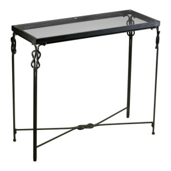 "Cyan Design Dupont 36.25"" Console Table in Rustic Iron"