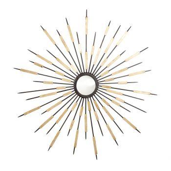 """Cyan Design Zenith 37.75"""" Mirror in Old World/Gold"""