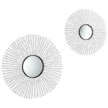 """Cyan Design Roxie 38.5"""" Mirror in Graphite"""