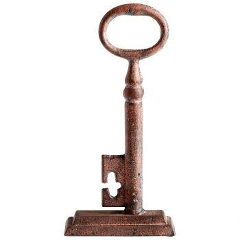"""Cyan Design Key 10.25"""" Sculpture in Rustic"""