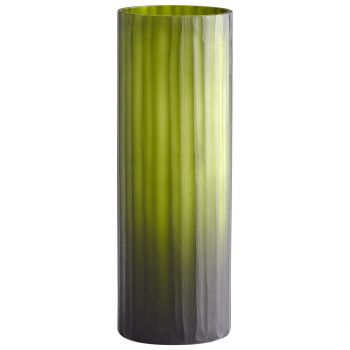 "Cyan Design Cee Lo 13.5"" Glass Vase in Green"