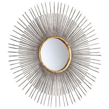 """Cyan Design Pixley 18"""" Mirror in Antiqued Silver Leaf"""