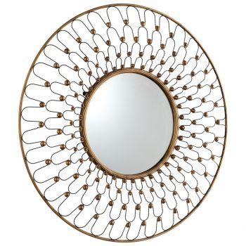 "Cyan Design Cordova 36"" Mirror in Gold"