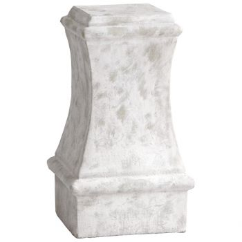 """Cyan Design Dexter 19.5"""" Cement Pedestal in Sandstone"""