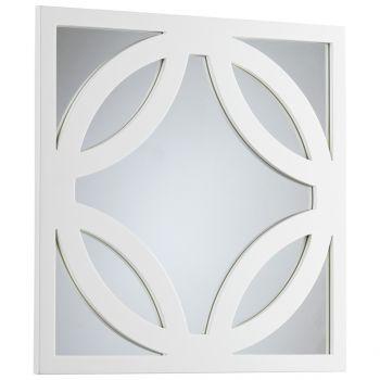 "Cyan Design Brodax 23.5"" Mirror in White Lacquer"