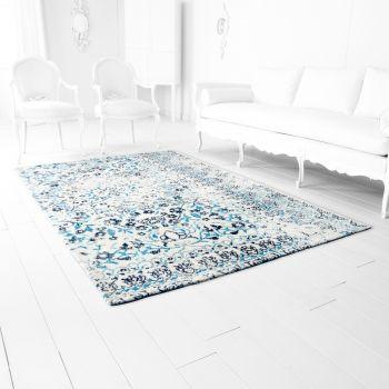 "Cyan Design Toungoo 114"" Rug in Ivory/Blue"
