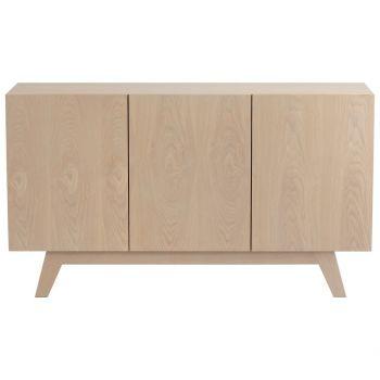 Cyan Design Stevens Media Wood Cabinet in Gray Veneer