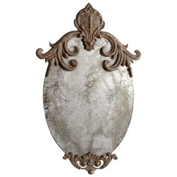 """Cyan Design Charlemagne 20.5"""" Mirror in Rustic"""